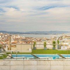 Отель NH Collection Lisboa Liberdade Португалия, Лиссабон - отзывы, цены и фото номеров - забронировать отель NH Collection Lisboa Liberdade онлайн бассейн
