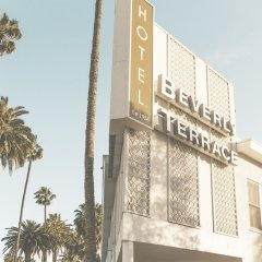 Отель Beverly Terrace США, Беверли Хиллс - 2 отзыва об отеле, цены и фото номеров - забронировать отель Beverly Terrace онлайн вид на фасад