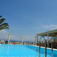 Отель Mistral Греция, Эгина - отзывы, цены и фото номеров - забронировать отель Mistral онлайн бассейн фото 2