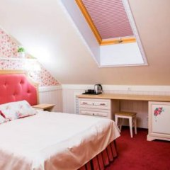 Гостиница Лесная поляна комната для гостей фото 3