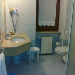 Hotel Ristorante La Bettola Урньяно ванная