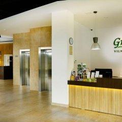 Green Vilnius Hotel интерьер отеля