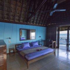 Отель Oa Oa Lodge Французская Полинезия, Бора-Бора - отзывы, цены и фото номеров - забронировать отель Oa Oa Lodge онлайн комната для гостей фото 4