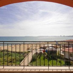 Отель Carina Beach Aparthotel Free Private Beach балкон