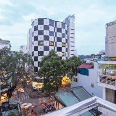Отель Hoang Hotel Вьетнам, Хошимин - отзывы, цены и фото номеров - забронировать отель Hoang Hotel онлайн балкон