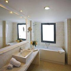 Отель The Kresten Royal Villas & Spa Греция, Родос - отзывы, цены и фото номеров - забронировать отель The Kresten Royal Villas & Spa онлайн ванная