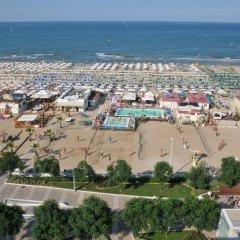 Отель Al Cavallino Bianco Италия, Риччоне - отзывы, цены и фото номеров - забронировать отель Al Cavallino Bianco онлайн пляж