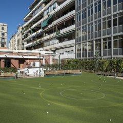 Отель Catalonia Barcelona Golf спортивное сооружение