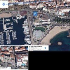 Отель Cannes Croisette Франция, Канны - отзывы, цены и фото номеров - забронировать отель Cannes Croisette онлайн пляж фото 2