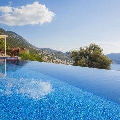 Villa Merak Турция, Калкан - отзывы, цены и фото номеров - забронировать отель Villa Merak онлайн бассейн
