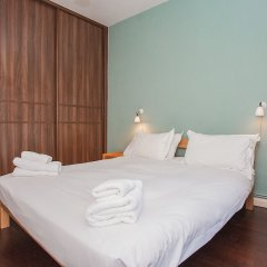 Апартаменты Stylish 1 Bedroom Apartment Near Kings Cross комната для гостей фото 3