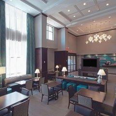 Отель Hampton Inn & Suites Columbus/University Area Колумбус интерьер отеля фото 2