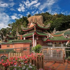 Отель Xiamen Gulangyu Sunshine Dora's House Китай, Сямынь - отзывы, цены и фото номеров - забронировать отель Xiamen Gulangyu Sunshine Dora's House онлайн балкон