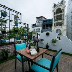 Отель Hanoi La Selva Hotel Вьетнам, Ханой - 1 отзыв об отеле, цены и фото номеров - забронировать отель Hanoi La Selva Hotel онлайн балкон
