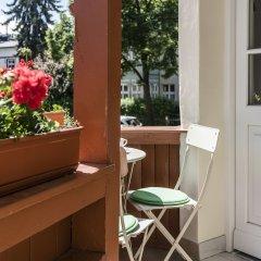 Апартаменты Sanhaus Apartments Сопот балкон
