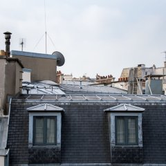 Отель Contemporary near Arc de Triomphe Париж вид на фасад