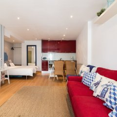 Апартаменты Studio In Typical Paz By Hideout Лиссабон комната для гостей фото 4