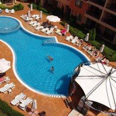 Отель Efir Holiday Village Болгария, Солнечный берег - отзывы, цены и фото номеров - забронировать отель Efir Holiday Village онлайн бассейн фото 2