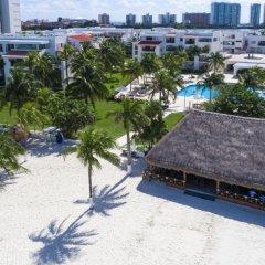 Отель Beachscape Kin Ha Villas & Suites Мексика, Канкун - 2 отзыва об отеле, цены и фото номеров - забронировать отель Beachscape Kin Ha Villas & Suites онлайн бассейн фото 5