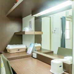 Отель Riski residence Bangkok-noi Таиланд, Бангкок - 1 отзыв об отеле, цены и фото номеров - забронировать отель Riski residence Bangkok-noi онлайн ванная фото 2