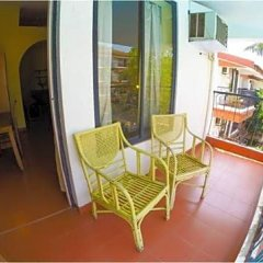 Отель Pride Sun Village Resort And Spa Гоа балкон