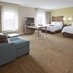 Отель Hampton Inn Minneapolis Bloomington West США, Блумингтон - отзывы, цены и фото номеров - забронировать отель Hampton Inn Minneapolis Bloomington West онлайн комната для гостей фото 3
