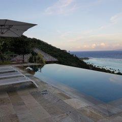 Отель Villa Manatea - Moorea Французская Полинезия, Папеэте - отзывы, цены и фото номеров - забронировать отель Villa Manatea - Moorea онлайн бассейн фото 3
