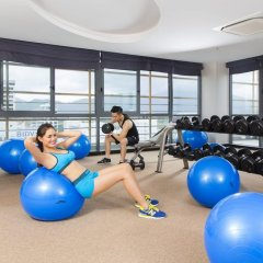 Galina Hotel & Spa фитнесс-зал фото 3