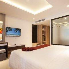 Отель Paripas Patong Resort 4* Стандартный номер с разными типами кроватей фото 8