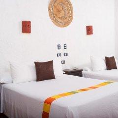 Отель Beachfront Hotel La Palapa - Adults Only Мексика, Остров Ольбокс - отзывы, цены и фото номеров - забронировать отель Beachfront Hotel La Palapa - Adults Only онлайн комната для гостей фото 5