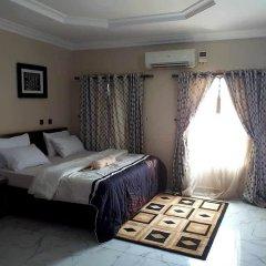 Отель Nue-Crest Hotels And Suites Нигерия, Энугу - отзывы, цены и фото номеров - забронировать отель Nue-Crest Hotels And Suites онлайн комната для гостей фото 4