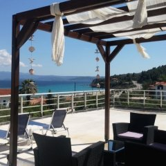 Отель Salonikiou Beach Deluxe Apartments Греция, Аристотелес - отзывы, цены и фото номеров - забронировать отель Salonikiou Beach Deluxe Apartments онлайн фото 10