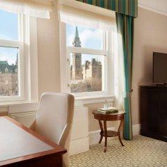 Отель Fairmont Chateau Laurier Канада, Оттава - отзывы, цены и фото номеров - забронировать отель Fairmont Chateau Laurier онлайн удобства в номере