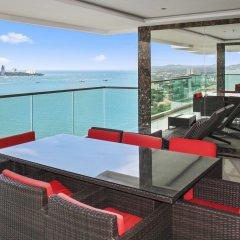 Отель Wong Amat Tower Apt.909 Паттайя гостиничный бар