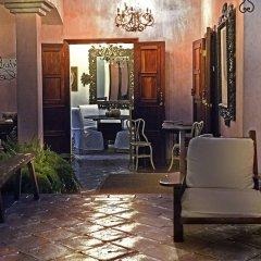 Отель La Casa Rosada Копан-Руинас интерьер отеля