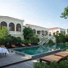 Отель Praya Palazzo бассейн