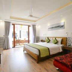 Отель Green Heaven Hoi An Resort & Spa Хойан комната для гостей фото 5