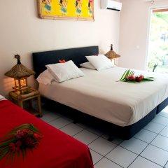 Отель Hibiscus Французская Полинезия, Муреа - отзывы, цены и фото номеров - забронировать отель Hibiscus онлайн комната для гостей фото 3