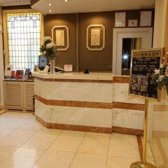 Отель Hostal Hispano - Argentino Испания, Мадрид - 1 отзыв об отеле, цены и фото номеров - забронировать отель Hostal Hispano - Argentino онлайн интерьер отеля фото 3