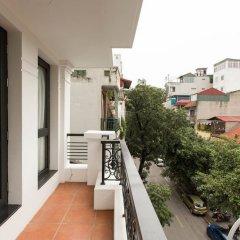 Отель Golden Lotus Hotel Вьетнам, Ханой - отзывы, цены и фото номеров - забронировать отель Golden Lotus Hotel онлайн балкон