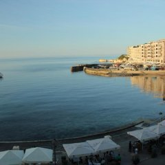 Отель Il-Plajja Hotel Мальта, Зеббудж - отзывы, цены и фото номеров - забронировать отель Il-Plajja Hotel онлайн пляж фото 2