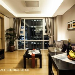 Отель Fraser Place Central Seoul Южная Корея, Сеул - отзывы, цены и фото номеров - забронировать отель Fraser Place Central Seoul онлайн комната для гостей фото 5