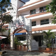 Отель Colonial Cancun Мексика, Канкун - отзывы, цены и фото номеров - забронировать отель Colonial Cancun онлайн вид на фасад фото 2