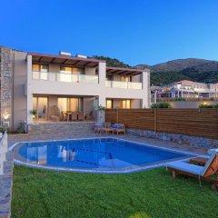 Отель Royal Heights Resort Villas & Spa Греция, Малия - отзывы, цены и фото номеров - забронировать отель Royal Heights Resort Villas & Spa онлайн бассейн фото 3