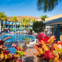 Отель Jandia Luz Морро Жабле бассейн