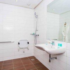 Отель Atlas Almohades Casablanca City Center Марокко, Касабланка - 2 отзыва об отеле, цены и фото номеров - забронировать отель Atlas Almohades Casablanca City Center онлайн ванная фото 2