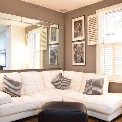 Апартаменты Beautiful Kensington 2 Bedroom Luxury Apartment Лондон комната для гостей фото 4