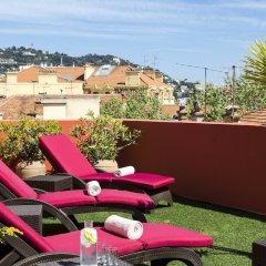 Отель Citadines Croisette Cannes Франция, Канны - 8 отзывов об отеле, цены и фото номеров - забронировать отель Citadines Croisette Cannes онлайн бассейн