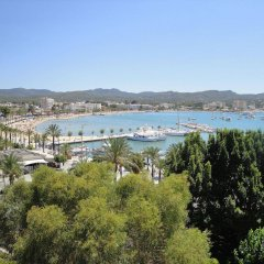 Апартаменты The Blue Apartments by Ibiza Feeling - Adult Only пляж