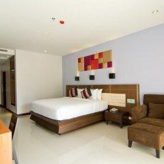 Отель Welcome World Beach Resort & Spa Таиланд, Паттайя - отзывы, цены и фото номеров - забронировать отель Welcome World Beach Resort & Spa онлайн комната для гостей фото 7